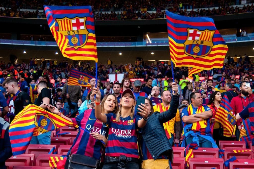 FC barcelona fans want to buy BAR tokens