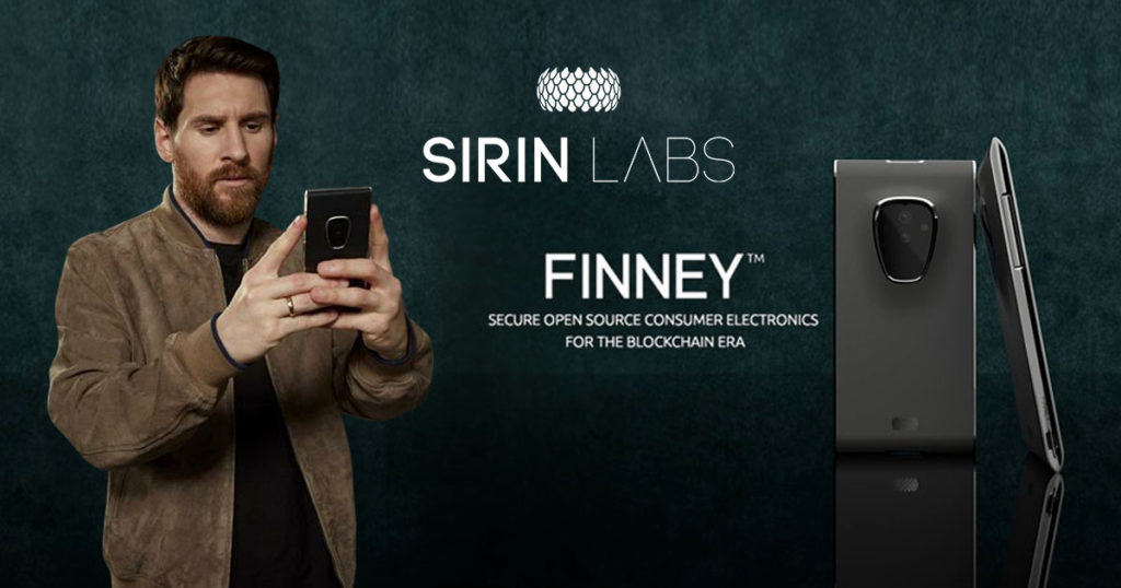Messi colaboration with Sirin Labs
