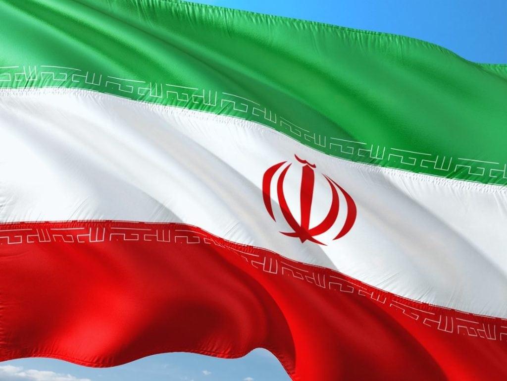 bitcoin mining in iran iranian flag