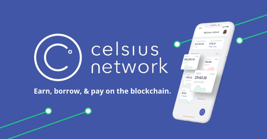 Celsius crypto network features