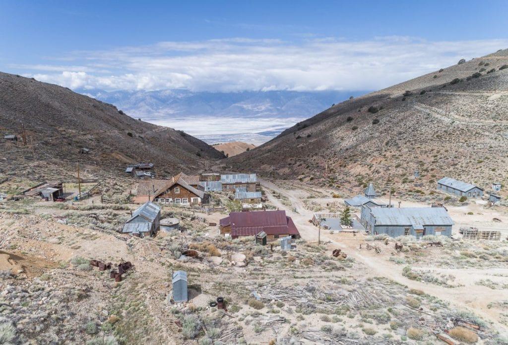 Cerro Gordo, ghost town in California