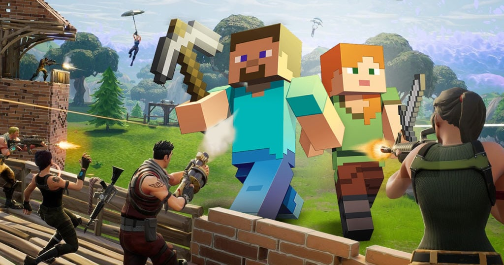Minecraft and Fortnite has 300 million players blockchain potential