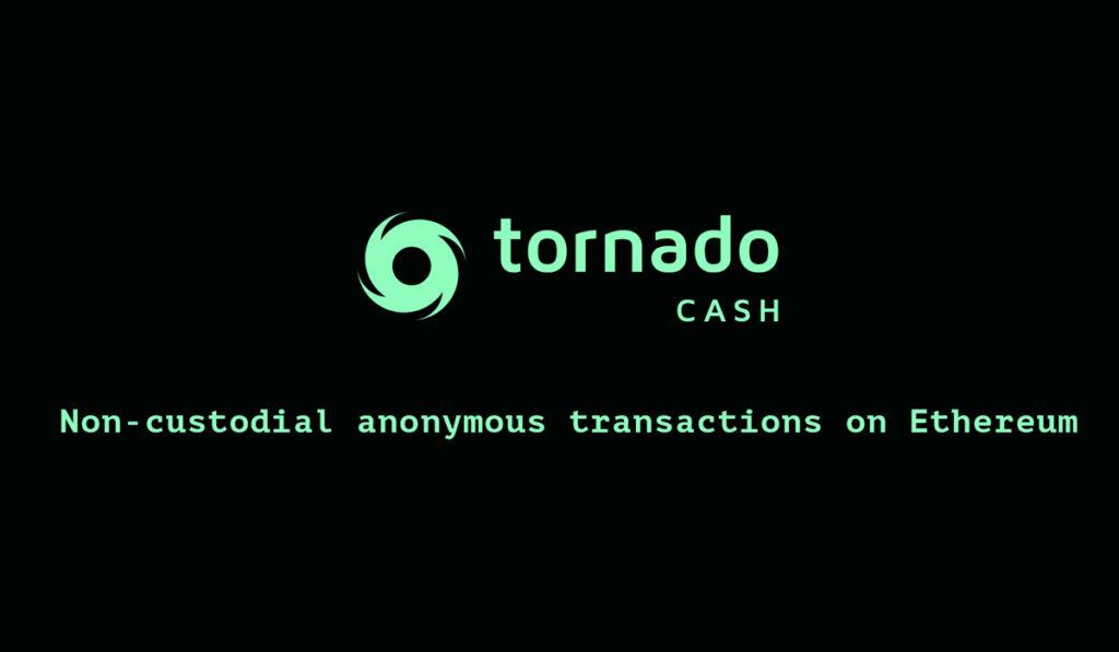Tornado Cash platform for anonymity