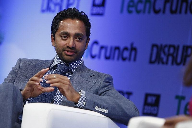 Chamath Palihapitiya billionaire suggest to buy bitcoin in deflation