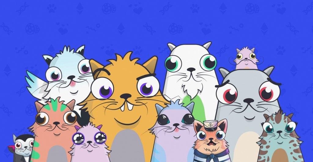 Crypto Kitties game based on blockchain technology