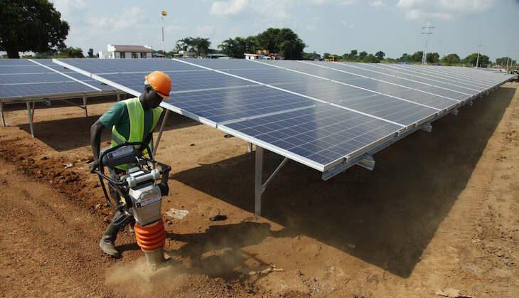 Sun Exchange african pased company solar panels