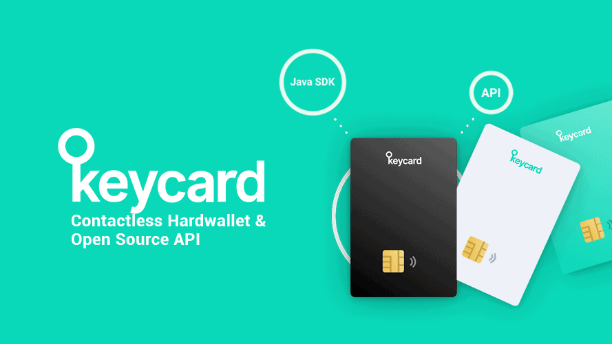 Keycard teaser with features