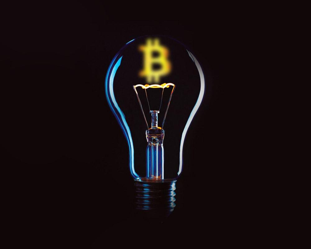 Bitcoin mining with solar panels
