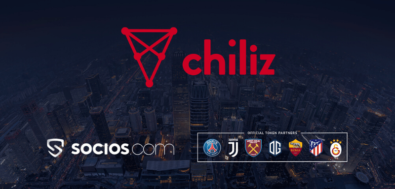 Chiliz socios football clubs