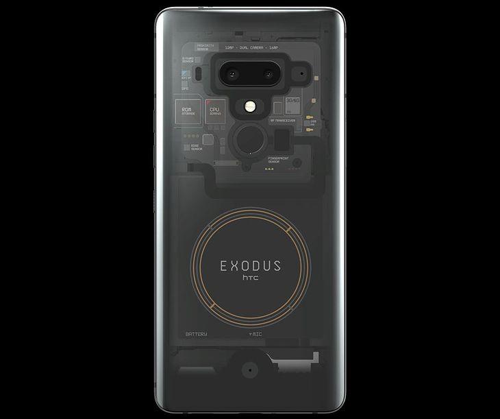 exodus htc phone crypto