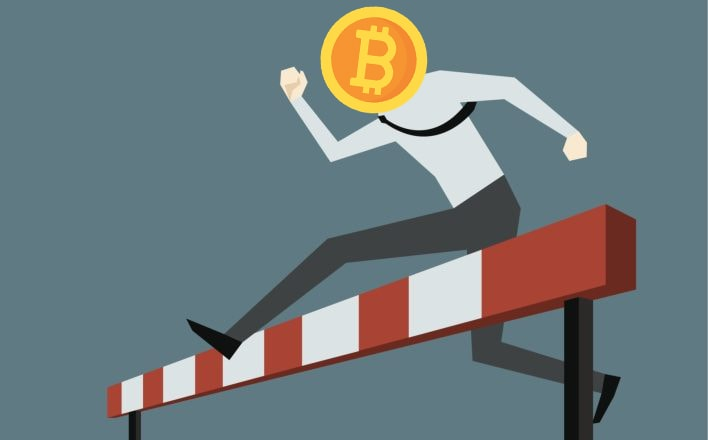 Bitcoin obstacles to reach level over 10,000 dollars