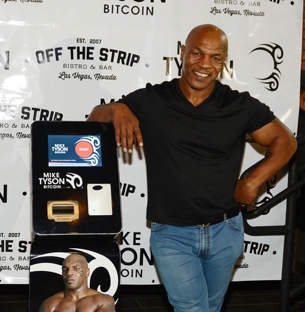 Mike Tyson and Bitcoin ATMs