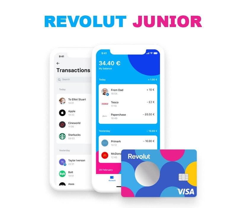 revolut junior and future development of company