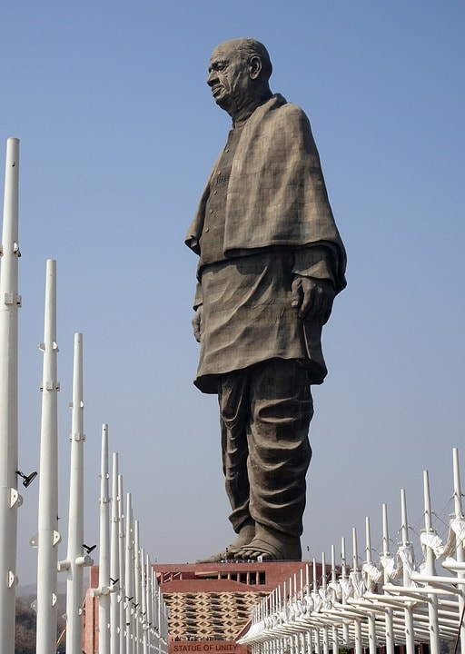 statue of unity was on the black market auction for 4b dollars