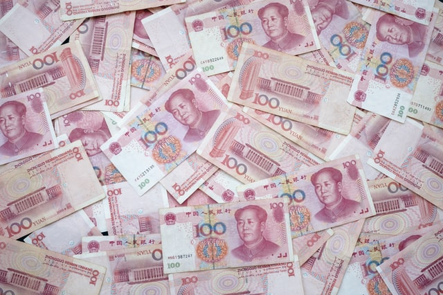 Yuan recession after conflict with USA